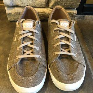 Keds Center Speckled Knit Taupe Sneaker